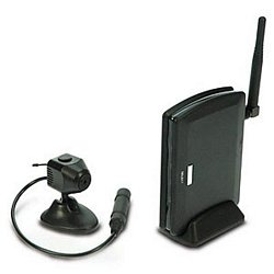 Wireless Color Pinhole Camera with Audio 2.4ghz Kit
