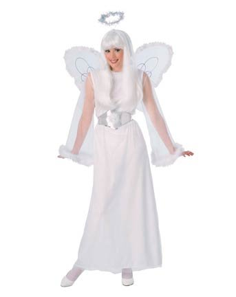 Snow Angel Womens Costume