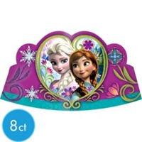 Disney Frozen Party Tiaras - Pack of 8