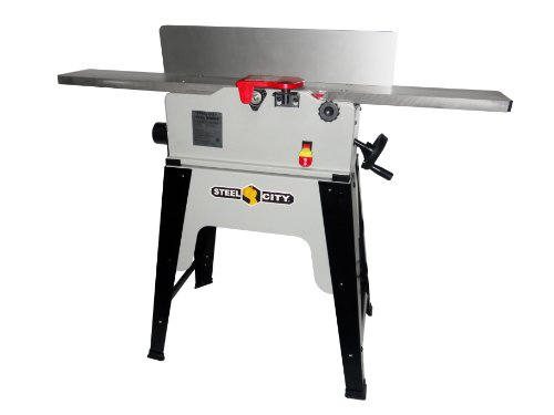 Steel City Tool Works 40630CH 6-Inch Cast Iron Stationary Jointer with Helical Cutter Head