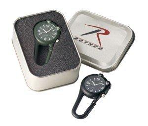 4500 Clip Watch W/ Led Light Black