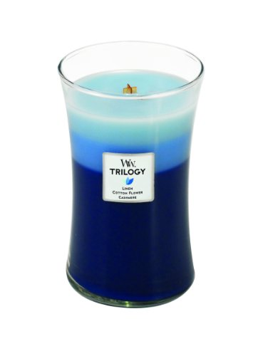 Woodwick Candle Clothesline Fresh Trilogy Large Jar