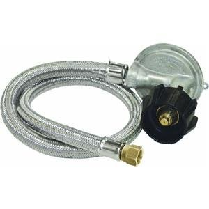 Bayou Classics 36 in. Gas Grill Braided Hose - 1 psi