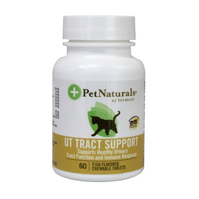 Pet Naturals Of Vermont Ut Tract Support F Original Cats Fish - 60 Chewables