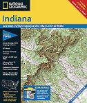 National Geographic TOPO! Indiana Map...