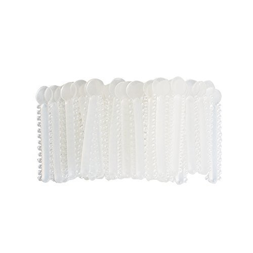 Careshine Dental Orthodontic Ligature Ties Elastic Rubber Braces (Clear-color)1040pcs (Braces Ligature Ties compare prices)