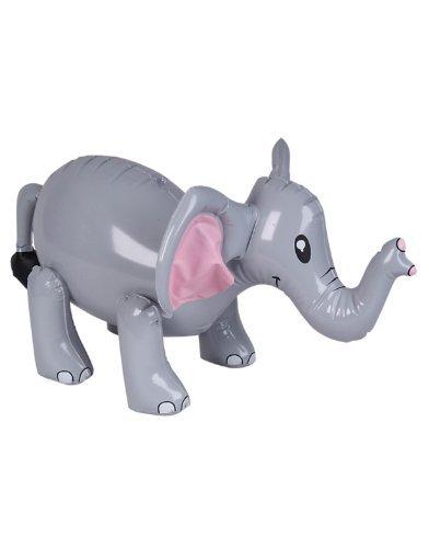 Elephant Zoo Animal Inflate front-1061565