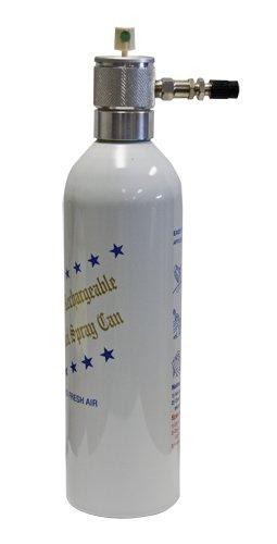 """Go Green"" Billet Aluminum Reusable Spray Can"