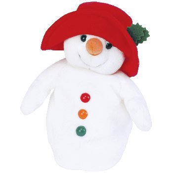 Ty Beanie Babies - Chillin' the Snowman