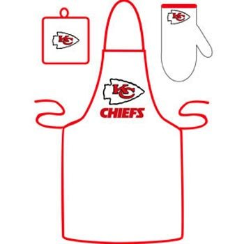 Kansas City Chiefs Grilling Apron Set