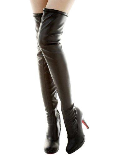 ニーハイ ブーツ ロング レディース小さいサイズ 大きいサイズ 靴 22cm 22.5cm 23cm 23.5cm 24cm 24.5cm 25cm 25...