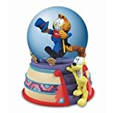 Garfield and Odie Waterglobe With A Ritzy Theme