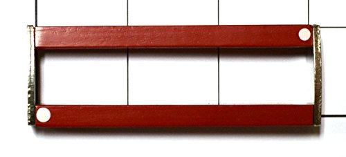"Eisco Labs Bar Magnets (Set of 2), Alnico, 3"" Length"