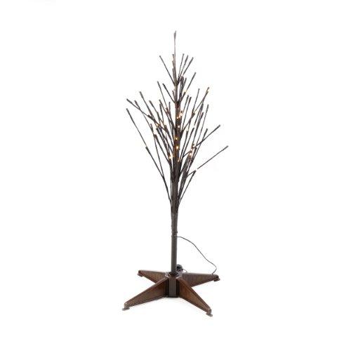 Kaemingk 3' Durawise Twig Pre Lit Led Battery Operated Christmas Tree