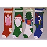 Ann Norling Pattern #1018 -Knitted Christmas Stockings