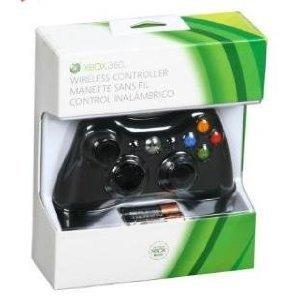 Black Xbox 360 Wireless Controller