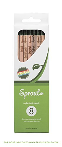 Sprout Pencil: Color Pencil 8 Pack (Mix Edition) by Sprout World