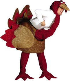 Turkey Costume Adult. Costume Fancy Dress Clothing.