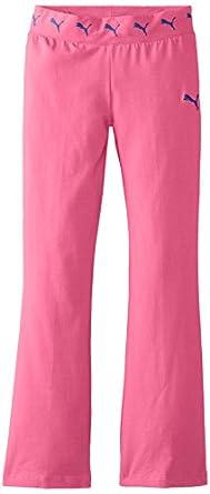 PUMA Big Girls' Core Yoga Pant, Beetroot Purple, Small