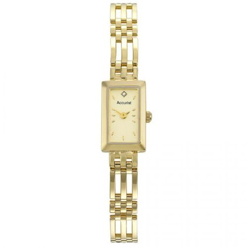 Accurist Ladies 9ct Gold Bracelet Watch GD1662
