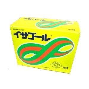 食物繊維(サイリウムハスク)加工食品 イサゴール 60袋