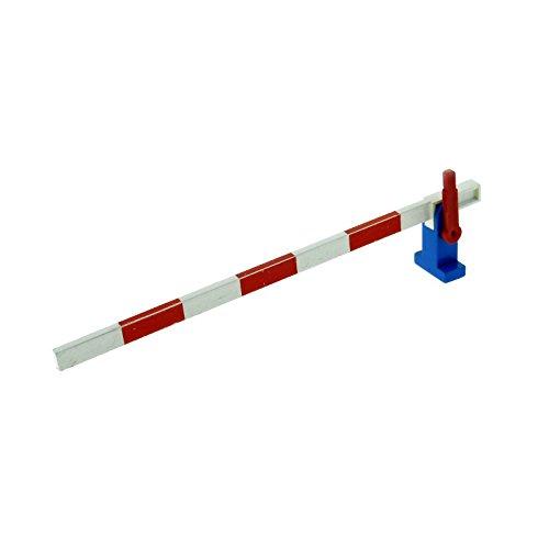 1-x-lego-system-eisenbahn-schranke-weiss-rot-hebel-rot-blau-rechts-bahnubergang-set-7720-119-118-783