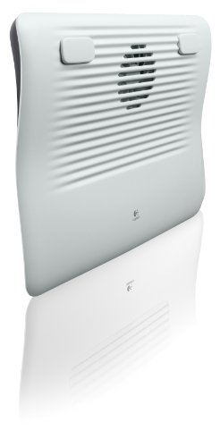 Logitech Cooling Pad N120, Usb-Powered, Silent-Airflow Fan With Low Power Consumption (939-000345)