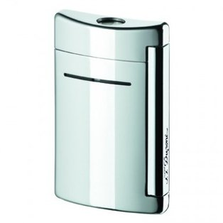 ST Dupont Minijet Chrome Grey Torch Flame Lighter