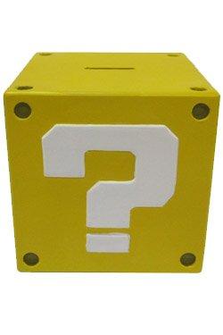 一緒にプラス - スーパーマリオブラザーズコインバンククエスチョンマーク14センチメートル   Together Plus - Super Mario Bros. Coin Bank Question Mark 14 cm