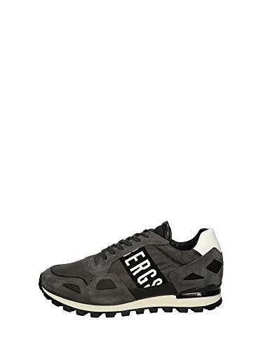 Bikkembergs BKE108524 Sneakers Bassa Uomo Grigio 43