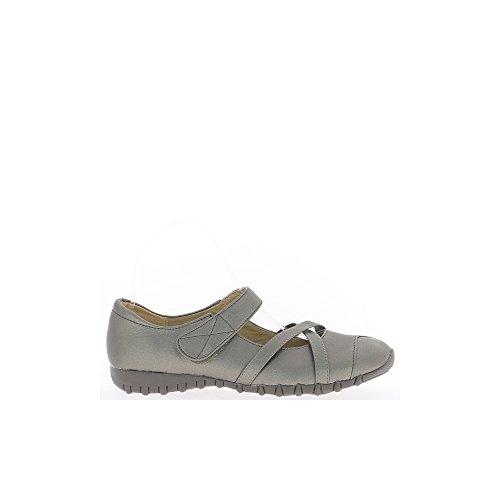 Chaussures grandes tailles femme confort bronze