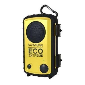 Buy Grace Digital Audio - Grace Digital Audio Eco Extreme Waterproof Yellow [gdiaqcse104] -