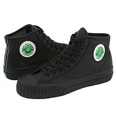 PF FLYERS Men's Center Hi Shoe, Black/Sandlot