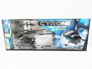 Protocol Cyrone Video-Copter 3.5 Channel Remote Control RC Helicopter - Black