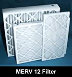 18x20x1-MERV 12 A/C Furnace Air Filters by Nordic Pure (Box of 6)