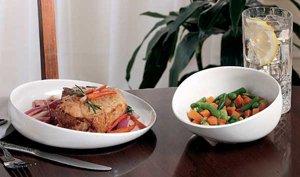 Melamine Scooper Dish - Blue