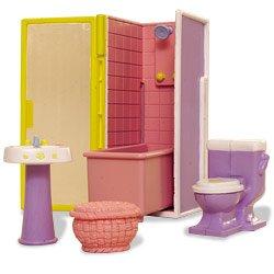Fisher Price Doras Talking House Bathroom Furniture Set