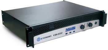 Crown CDi 6000 Power Amplifier 1200 Watts Per Channel at 8 Ohms (Crown Power compare prices)