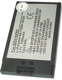Batería tipo SONY PEGA-BP500, 3.7V, 1200mAh, Li-Pol