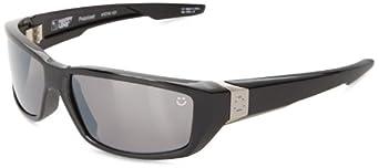 Spy Optic Dirty MO Sunglasses,Black Happy Bronze Polarized W/Black Mirror,59 mm