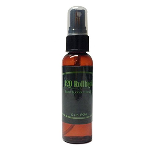 420 Rollback Smoke & Odor Eliminator - Get Back to a Zero Odor & Zero Smoke Smell (2oz) by Mari Kyrios Creations (Smoke Odor Eliminator Spray compare prices)