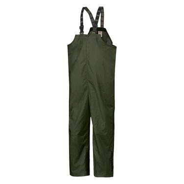 Helly Hansen Workwear Men's Mandal Fishing and Rain Bib Pant, Army Green, Large (Military Rain Pants compare prices)