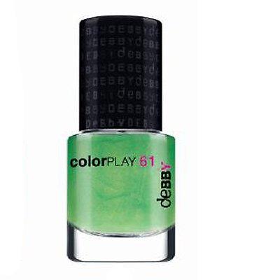 Smalto Per Unghie Debby Colorplay Verde Mela 61 Green Apple