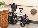 All in One Shower/Commode/Transport Wheelchair - Model 559270
