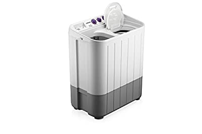 Samsung WT655QPNDRP Semi-automatic Washing Machine (6.5 kg, Grey and Purple)