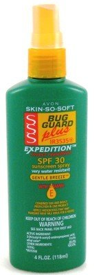 Avon Skin-So-Soft Bug Guard + SPF#30 Expedition 120 ml Spray (Case of 6)