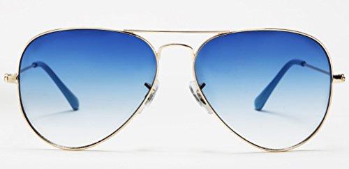 Mambo Shades -  Occhiali da sole  - Uomo Oro oro