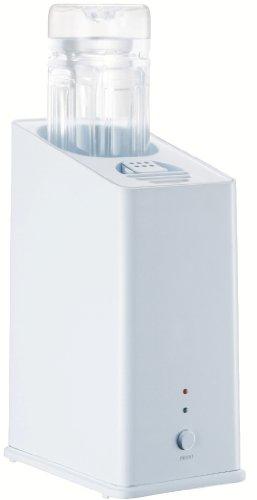CCP スチーム式ペットボトル加湿器 アロマ対応 ホワイト KZ-H60-WH