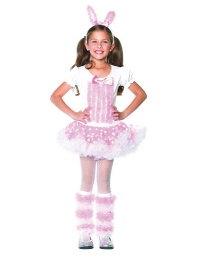 Kids-Costume Fluffy Bunny Sm Halloween Costume - Child Small