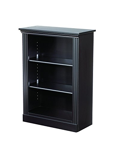 Lang Furniture Madison Book Shelf 12 by 28 by 37 Inch Black